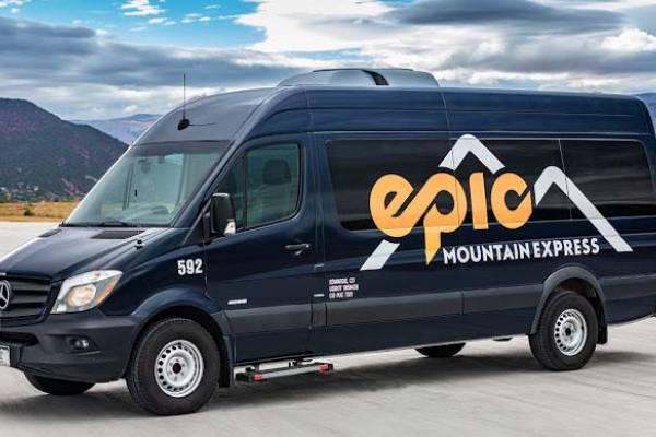 Epic Mountain Express bus