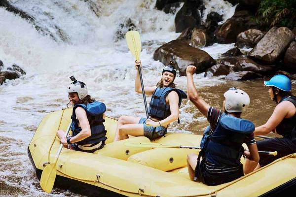 Whitewater rafting in Vail, CO