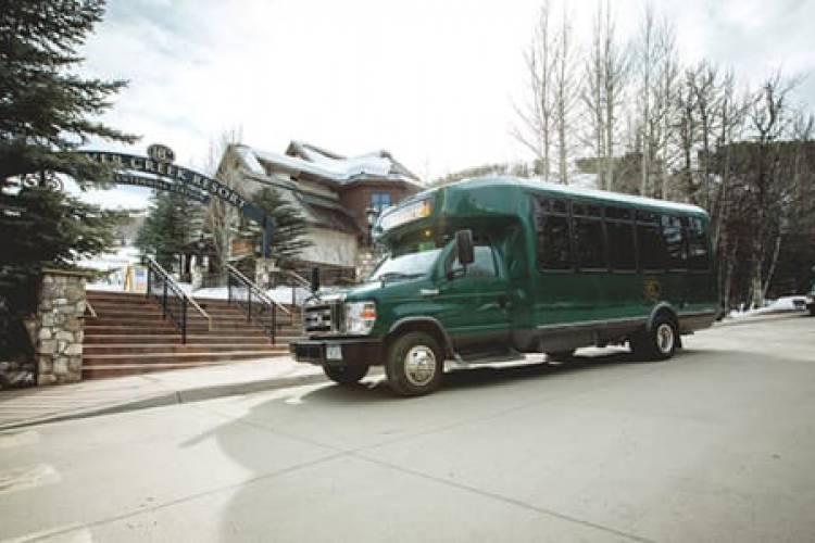 Shuttle in Beaver Creek, CO