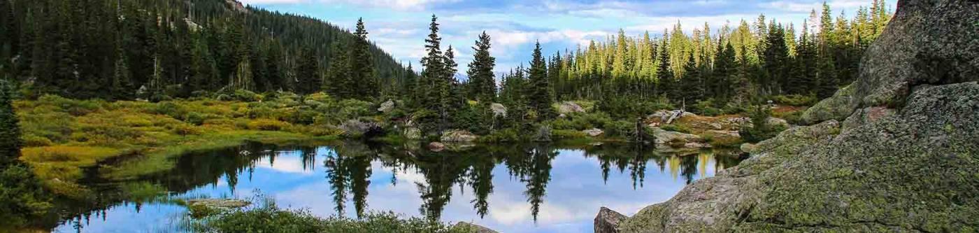 Lake Constantine in Vail, Colorado