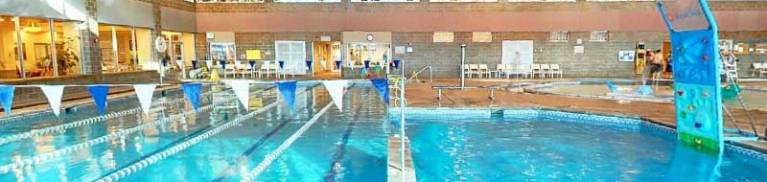 Swimming pool at the Avon Rec center