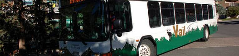 Town of Vail bus transportation