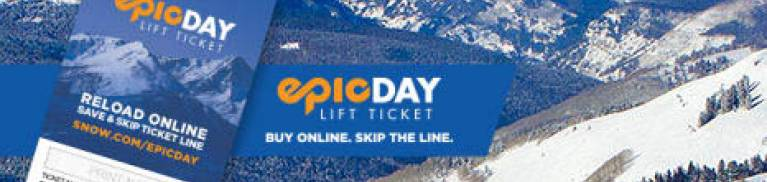 Lift tickets for Vail mountain in Colorado